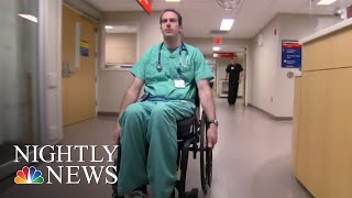 ER Physician Forms Stronger Bond With Patients After Tragedy | NBC Nightly News - NBCNEWS
