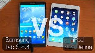 Samsung Tab S 8.4 vs iPad mini Retina Рассуждение на тему