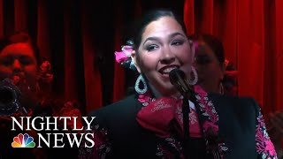 Wave Of Women Making Mariachi Their Own | NBC Nightly News - NBCNEWS