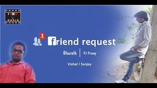 Friend Request || Rom-Com Telugu Short Film by Bharat Kothuri - YOUTUBE
