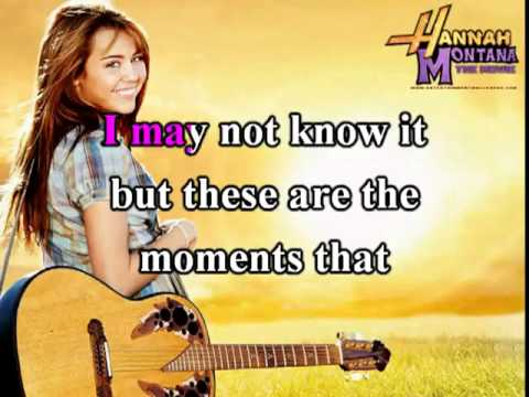 The Climb - Miley Cyrus Karaoke -gaxAuOk1t5o