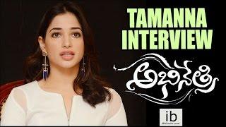 Tamanna interview about Abhinetri  - idlebrain.com - IDLEBRAINLIVE