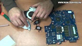 Инструкция по разборке, сборке и чистки от пыли ноутбука Samsung R525