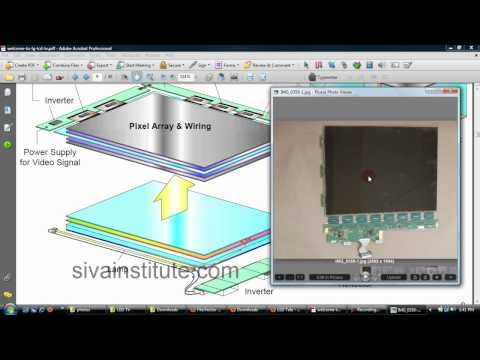 LED TV Repair( Chip Level ) By SIE GUNTUR ...Lecture - 1