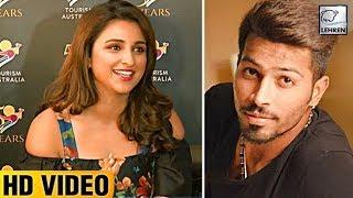 Parineeti Chopra Reacts On DATING Hardik Pandya | LehrenTV