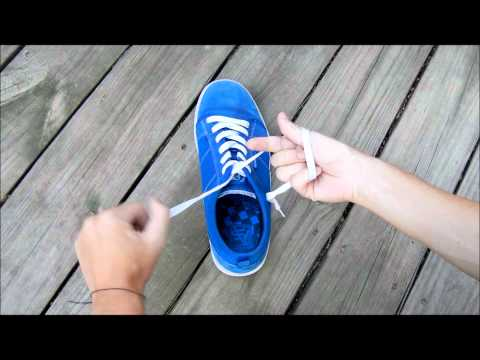How to tie your shoes super fast!
