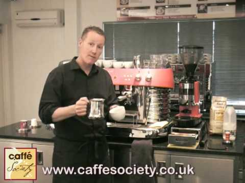 How to make a cappuccino Barista Tips