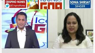 Icons of Goa: Portuguese Music Genre—Fado singer Sonia Shirsat Interview - NEWSXLIVE