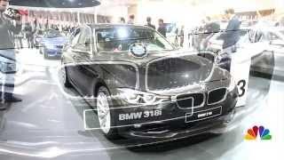 Frankfurt Motor Show 2015: BMW X1 and BMW 318i