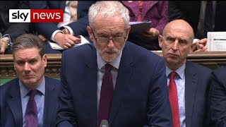 Jeremy Corbyn: Government in complete 'disarray' - SKYNEWS