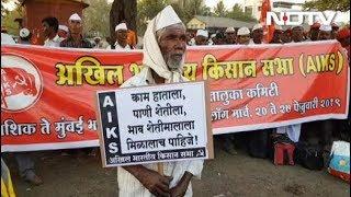 महाराष्टः नासिक से मुंबई रवाना हुए किसान, जानिए क्यों कर रहे आंदोलन - NDTVINDIA