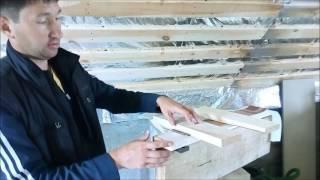 Выравнивание пола по деревянным балкам перекрытия