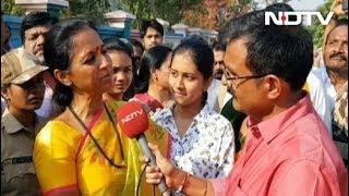 मैं विरासत नहीं, काम के दम पर वोट मांग रही हूं : सुप्रिया सुले - NDTVINDIA