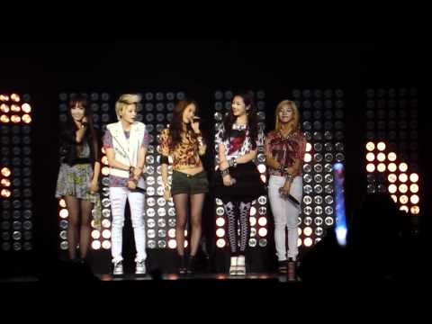 [fancam] SM Town Paris 10.06.2011 - f(x) Lachata+introduction - Krystal &amp; Jessica (SNSD) TiK ToK HD
