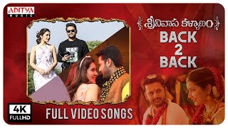 Srinivasa Kalyanam Full Video Songs Back To Back | Nithiin, Raashi Khanna - ADITYAMUSIC