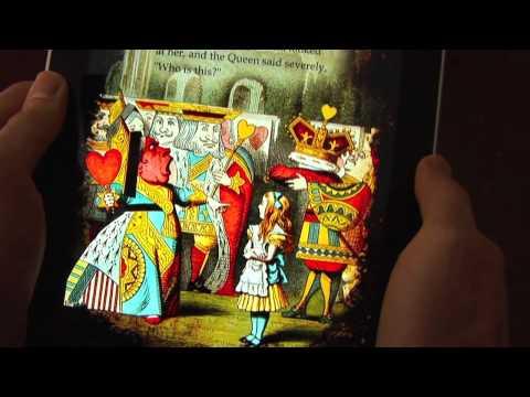 «Алиса в стране чудес» для iPad