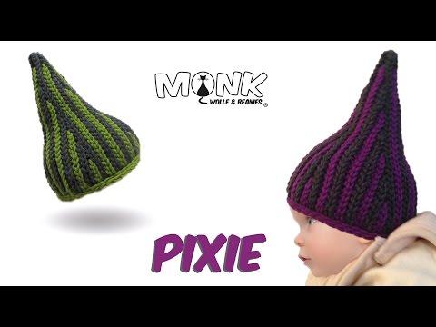 Mütze Bosnisch Häkeln Pixie Babymütze Kettmaschen Häkeln للعرب