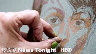 Drawing El Chapo & White Male Terrorists: VICE News Tonight Full Episode (HBO) - VICENEWS