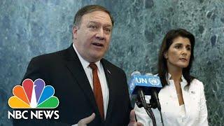 Mike Pompeo Defends Vladimir Putin's White House Invite: 'This Makes Enormous Sense' | NBC News - NBCNEWS
