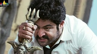 Jr NTR Shakti Movie Powerful Action Scene | Latest Telugu Movie Scenes | Ileana | Sri Balaji Video - SRIBALAJIMOVIES
