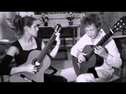 the Duo Bensa Cardinot, Olivier Bensa et Cécile Cardinot