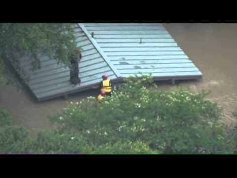 Raw: Rescues From San Antonio Flooding