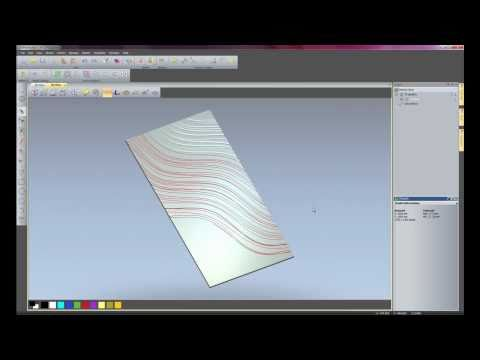 ArtCAM Express 2011 - Texture Toolpath