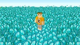 1 Diamond = $100 Challenge (Minecraft)