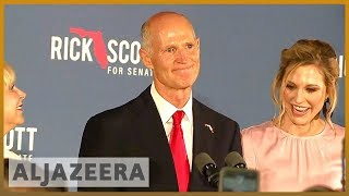 🇺🇸Florida orders recount in contentious senate, governor races | Al Jazeera English - ALJAZEERAENGLISH