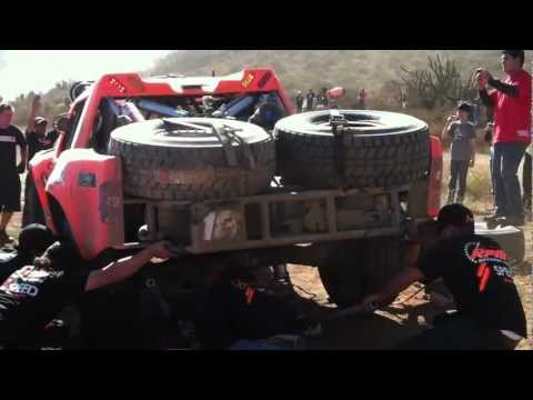 RPM Offroad/SPEED Energy- Juan Carlos Lopez #18 Trophy Truck Pit @ Race Mile 290
