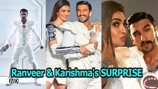Ranveer Singh & Karishma Tanna's SURPRISE coming soon - BOLLYWOODCOUNTRY