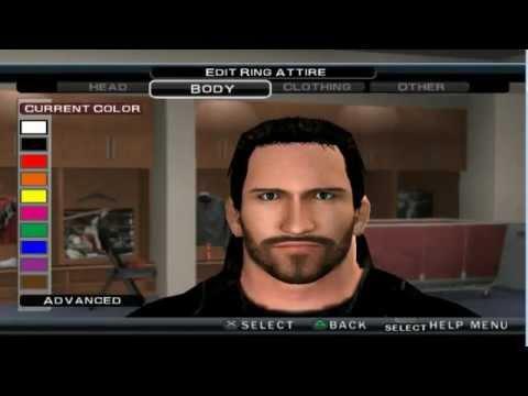 WWE 13/WWE 12/ SVR 11 THE SHIELD SETH ROLLINS CAW FORMULA PS2 & Wii