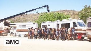 Fear the Walking Dead: 'Knocking Over an RV' Behind the Scenes Ep. 312 - AMC