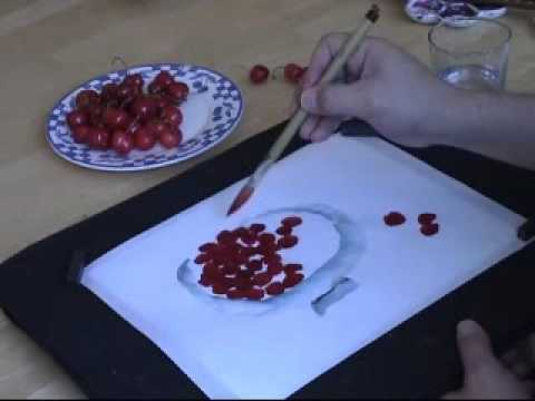 Painting a Bowl of Cherries wih Henry Li