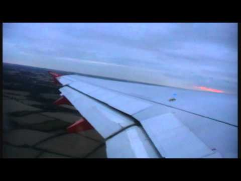 easyJet A319 takeoff London Stansted
