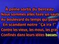 Georges Brassens   Boulevard Du Temps Qui Passe [Karaoke]