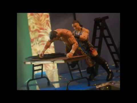 Rob van dam vs Fandango Part 1 wwe stop motion