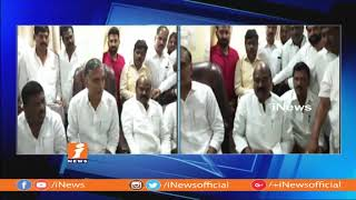 TRS Leader Harish Rao Meets With BJP Leader k Satyanarayana In Sangareddy | iNews - INEWS