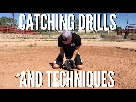Baseball Catching Drills & Techniques for the Elite Catcher