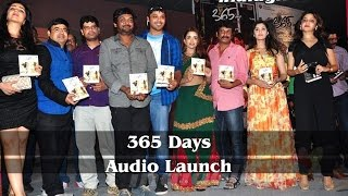 365Days Audio Launch l Nandhu l Anaika Soti - IGTELUGU