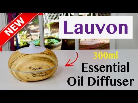 😍 LAUVON  Essential Oil Diffuser 300ml  - Review ✅
