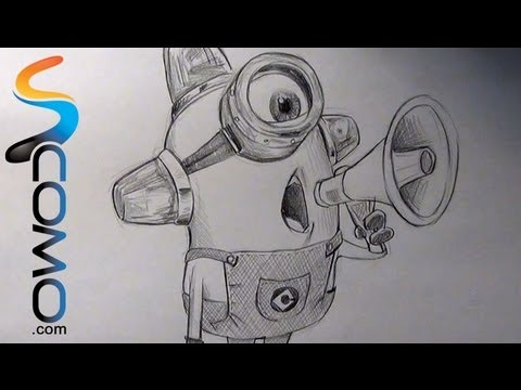 Dibujo de minions a lapiz  Imagui