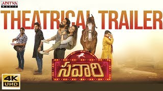 Savaari Movie Theatrical Trailer | Nandu, Priyanka Sharma | Saahith Mothkuri - ADITYAMUSIC