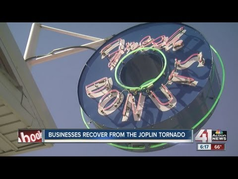 Joplin donut shop weathers the storm