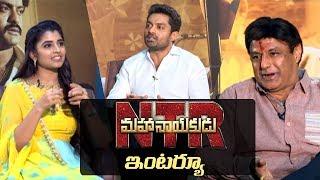 NTR Mahanayakudu Interview | Balakrishna & Kalyan Ram interview about NTR Mahanayakudu | Indiaglitz - IGTELUGU