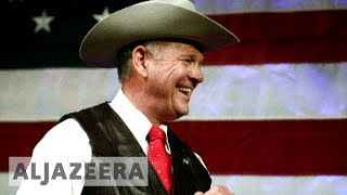 Trump criticises Roy Moore after Alabama loss - ALJAZEERAENGLISH