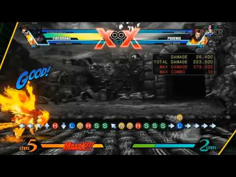 Ultimate Marvel Vs Capcom 3 FireBrand Guide f/ FC JAGO FingerCramp Rehab