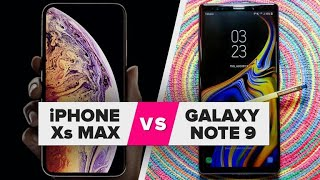iPhone XS Max vs. Galaxy Note 9: Spec comparison - CNETTV
