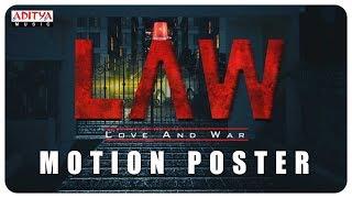 """L A W (LOVE AND WAR)"" Motion Poster | Kamal Kamaraju,Mouryani - ADITYAMUSIC"