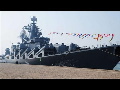 Russia Builds Up Naval Presence Off Syria